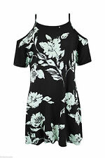Unbranded Square Neck Mini Floral Dresses for Women