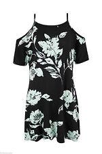 Unbranded Viscose Short Sleeve Floral Dresses for Women