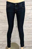 HOLLISTER Women's Lowrise Dark Wash Denim Skinny Jeans - Size 5  L31