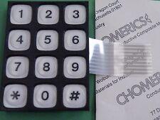 12 key 3x4 Matrix 0-9 *# keyboard keypad data entry gp and adrino Tactile EW11