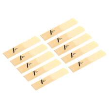 Saxofón Saxofon Ca?as de Bambú Tama?o 2.5 Caja de 10 Carrizos Sax Chip 2 1/2 bE