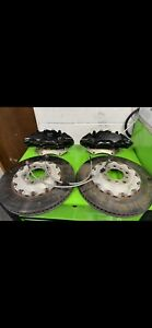 AP radical 390mm brakes BMW M4 M3 M2 Front calipers,incdiscs pads braided lines