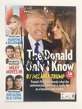 45th President Donald J. Trump Signed Autographed Magazine Jsa Authenticated