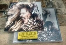 KELLY CLARKSON Meaning Of Life Autographed CD Booklet + New CD