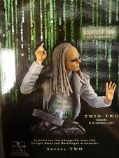 Matrix Movie Twin 2 Limited Ed Bust Statue Gentle Giant bnib