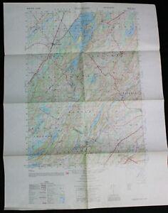 HAMMOND NEW YORK QUADRANT TOPOGRAPHIC MAP 1951 ARMY CORPS OF ENGINEERS VINTAGE