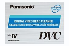 Panasonic Ay-dvmclw Head Cleaner Tape for All Brands of Mini DV Camcorder