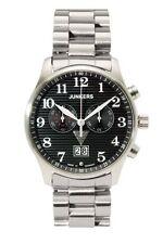 Junkers runde Armbanduhren aus Edelstahl für Herren