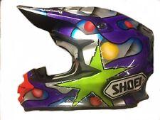 shoei vfx-w xl Motocross Custom Painted Helmet BRAND NEW Redbull Monster Energy