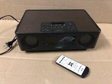 Yamaha TSX-130 desktop audio system iPhone / iPod dock USB CD FM Radio w/ Remote