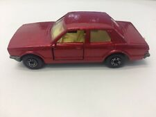 RARE VINTAGE MATCHBOX FORD CORTINA 1979 NO 55 LINE RED BLACKWALL HOT