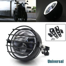 "5.75"" 35W LED Motorcycle Headlight Turn Signal Headlamp with Support Net cover"