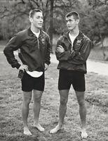 1984 Bruce Weber - Notre Dame Men Crew Rowing Athlete Vintage Photo Gravure Art