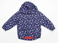 TU Boys Abstract Blue Boats Coat Age 4-5 Years