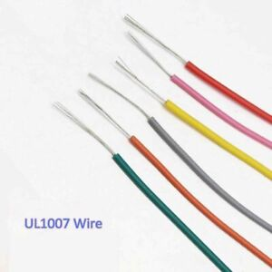 20AWG UL1007 Cable Equipment Electrical PVC Wire AWM Copper Tinned Hook-Up 300V
