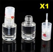 1pcs Glossy Shiny Nail Polish Liquid Transparent Base Coat Nourishment Nail Art