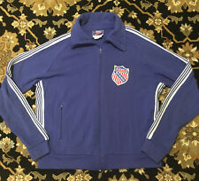 Vtg Usaabf United States Amatuer Boxing Federation Patch Zip Sweatshirt Jacket