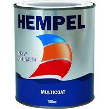 23,99€/l // Hempel Multi Coat // 750ml weiß  1K Bootslack Decksfarbe Bilgefarbe