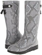 New Tsubo Charcoal Suede Eilis Snake women's boots size 9