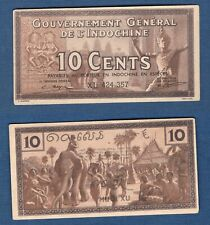 Indochine - 10 Cents Brun XL 424.357 SUP Type IV