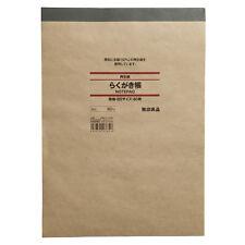 MUJI MoMA Recycled paper Doodling Notebook B5 Plain(no line) 80 sheets