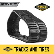 "Bobcat T300 - Pair of 18"" MWE Heavy Duty Multi-Bar Pattern CTL Rubber Tracks"