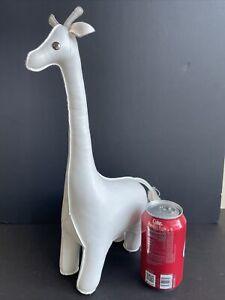 "Zuny Giraffe White Bookends 15"" Tall"