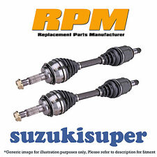 PAIR REAR FORD TERRITORY 2WD AWD 04/04 - 10/2016 L&R CV Joint Drive Shafts