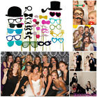 5-58Pcs DIY Photo Booth Props Mask Glass On A Stick Party Wedding Decorations AU