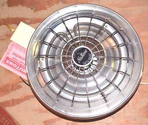 NUTONE MINT Radiant Ceiling Bathroom Heater 9285 Silver Anodized Aluminum 1000W
