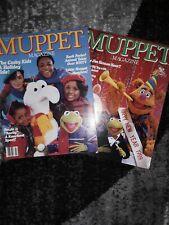 Muppet Magazine Winter 1986 and Winter 1989