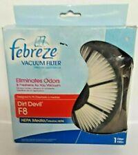 NEW! Febreze Vacuum HEPA Media Filter for Dirt Devil F8
