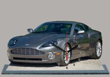 Voitures de sport miniatures gris Aston Martin
