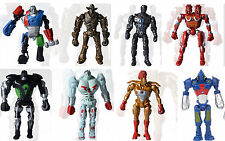 "New Set of 8 pcs Real Steel Atom Midas Noisy Boy Zeus Toy Action Figure 5"" 13cm"