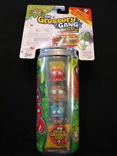 New! The Trash Pack - The Grossery Gang - 4 Grosseries in a Can