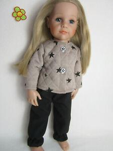 Puppenmode Kleidchen 50 cm NEU Täschchen