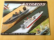 2008 Stratos Yamaha Bass Fishing Boat Catalog Brochure XL XT SF XF 201 200 294
