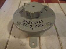 Unissued/Unused Vietnam War Era USN Ship Bulkhead BRASS Light  Switch Mk8