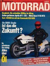 M8709 + Test BMW K 100 LT + Langstreckentest KAWASAKI KLR 600E + MOTORRAD 9/1987