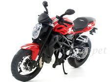 MAISTO 11096 2012 MV AGUSTA BRUTALE 1090 R BIKE MOTORCYCLE 1/12 RED / BLACK