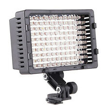 Pro LED HD video light for Panasonic GH4 GH3 GH2 G6 G6KK G5 Lumix SLR  on camera