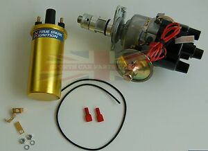 New 45D Electronic Ignition Distributor & Sport Coil Austin Healey Sprite Bugeye