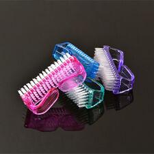 Plástico Uñas cepillo de limpieza de mano de lavado Cepillo De Uñas Manicura