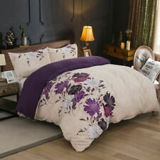 All Size Bed Ultra Soft Quilt Duvet Doona Cover Set or Sheet Pillowcase Floral