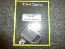 John Deere X300R Lawn Tractor Owner Owner's Operator Manual User Guide Omm164738
