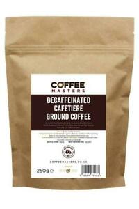 Coffee Masters - Decaf Cafetiere Ground Coffee (1x250g)