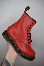 Dr Martens 1460 Red Vintage Smooth 8-eye boots Size UK 4 EU 37 US 6 Rare