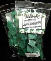 BALSAM & CEDAR Herbal Botanical Scented Soy Paraffin Tart Wax Chunk Christmas