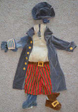 RARE Disney SM John Silver Pirate Cyborg Treasure Planet Halloween Plush Costume