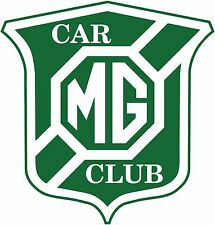 NEW MG Car Club JOINT Membership